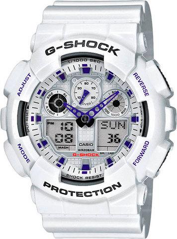 Купить Наручные часы Casio G-Shock GA-100A-7ADR по доступной цене