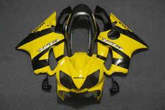 Комплект пластика для мотоцикла Honda CBR 600 F4I 04-07 Желто-Черная Лимитированная