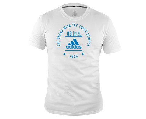 Футболка The Brand With The Three Stripes T-Shirt Judo