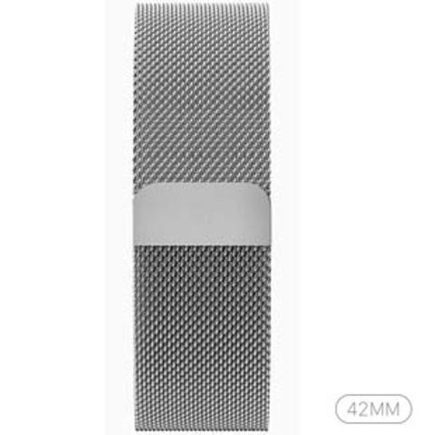 Купить Стальной сетчатый браслет с Миланской петлей для Apple Watch 42mm по доступной цене