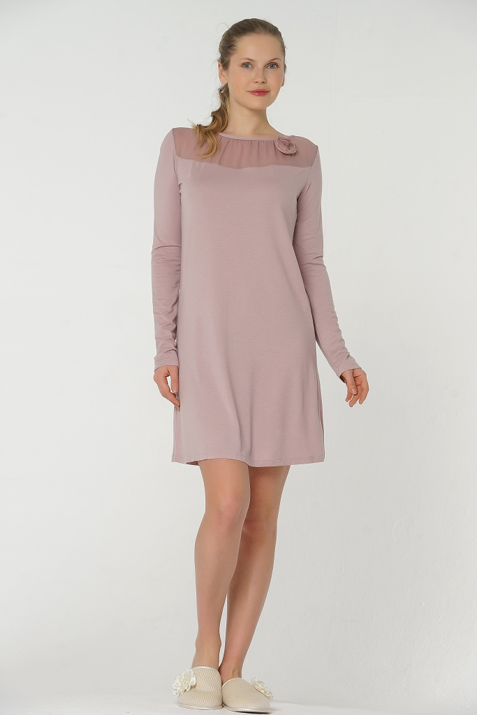 Домашнее платье из микромодала Valery (Домашние платья и ночные сорочки)