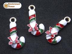 Подвеска Рождественский леденец