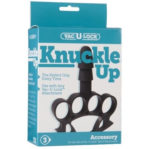 Vac-U-Lock - Knuckle Up Насадка кастет с штырьком в кор.Харнесс фото