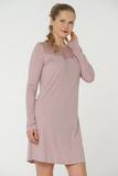 Домашнее платье из микромодала Valery