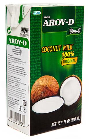 Молоко кокосовое Aroy-D 60% 500мл