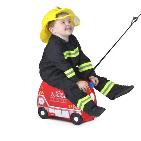 Чемодан на колесиках Фрэнк пожарный