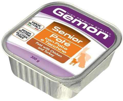 Gemon Dog Senior Pate with Chicken & Turkey