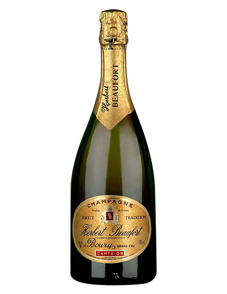 Champagne Herbert Beaufort Carte Or Grand Cru Brut