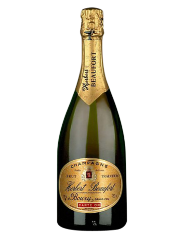 Champagne Herbert Beaufort Carte Or Grand Cru Brut