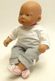 Тапочки - На кукле. Одежда для кукол, пупсов и мягких игрушек.