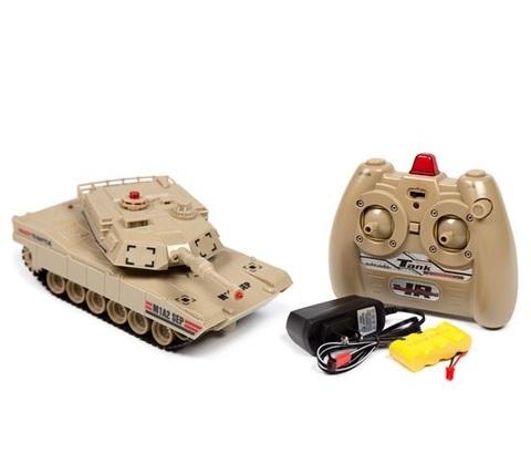 Радиоуправляемый танковый бой JXD Russian T-90 vs USA Abrams M1A2 (код: JD800)