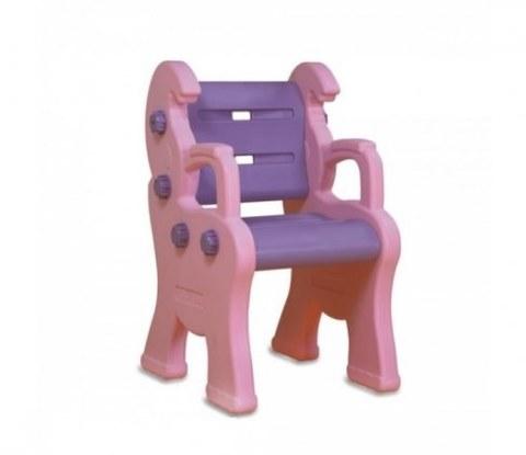 Стул KING KIDS Детский пластиковый Королевский розовый KK_LC9040_P