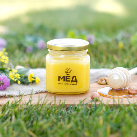 Цветочный мёд 330 г 2018 года