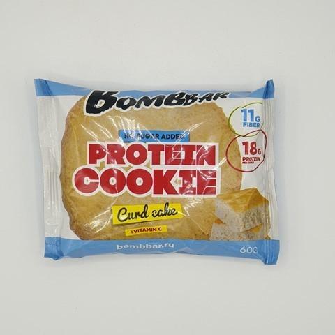 Печенье протеиновое вкус Творожный кекс BOMBBAR, 60 гр