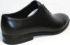 Мужские весенние туфли Ikos 006-1 Black