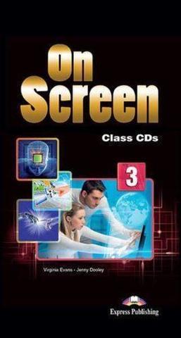 On Screen 3. Class CD's (set of 5) International. Аудио CD для работы в классе