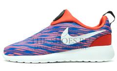 Кроссовки Женские Nike Roshe Run 2.0 Blue Red Print