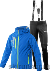Детский лыжный костюм 8848 Altitude Mick JR Softshell Blue Nordski Premium