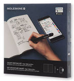 Набор Moleskine Smart Writing блокнот Paper Tablet и ручка Smart Pen plus черный (PTSETA)
