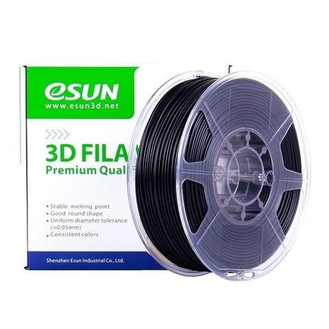 Пластик Esun eABS MAX 1.75 мм - 1 кг., черный