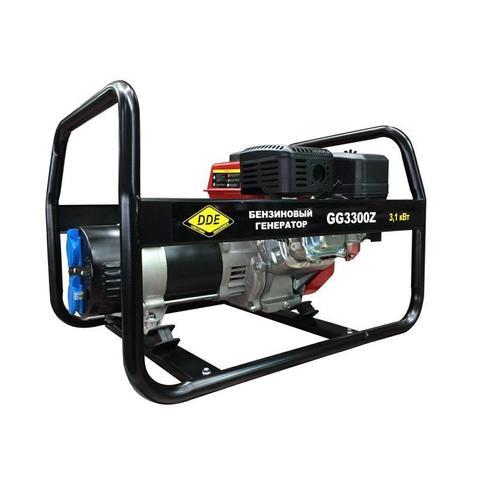 Генератор бензиновый DDE GG3300Z (1ф ном/макс.  2,8/3,1 кВт, DDE UP170, т/бак 3.6л, ручн./стартер, 39кг)