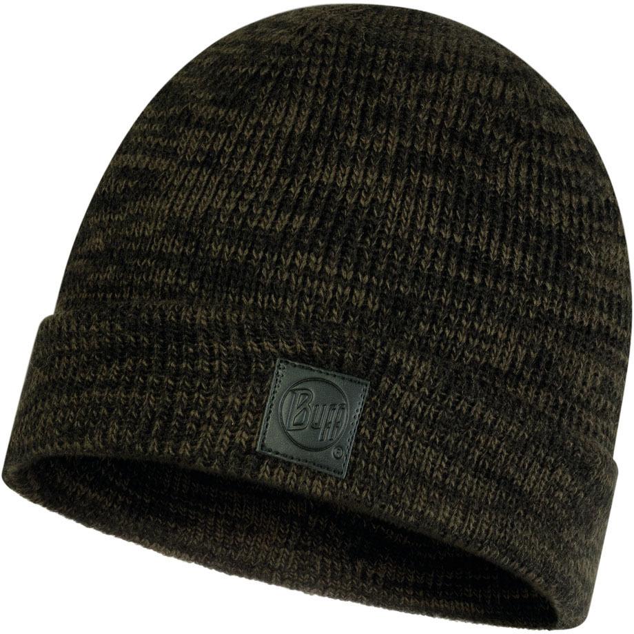 Шапки с отворотом Вязаная шапка Buff Hat Knitted Edik Khaki 120831.854.10.00.jpg
