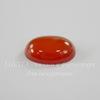 G-H031-5-4 Кабошон овальный Агат красный, 18х13х5,5 мм