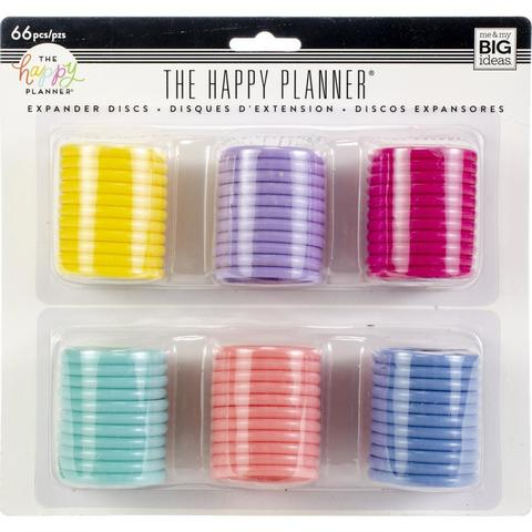 Набор дисков - (крепежный механизм для ежедневников) Happy Planner Expander (Big) - 4.3 см