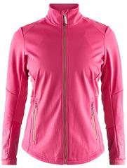 Утепленная куртка для бега Craft Warm Train Pink женская