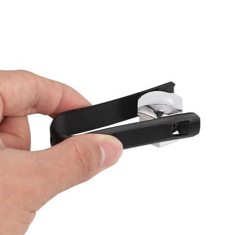 Колпачки хромированные пластиковые для болтов и гаек в блистере 20+1 ключ=19мм