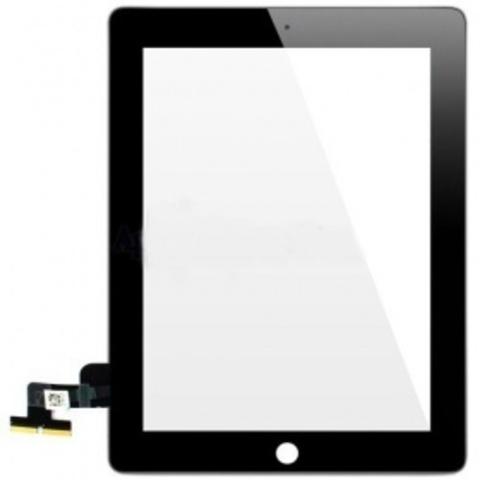 Тачскрин iPad 1/2  (белый/черный)