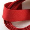 Шнур замшевый (искусств), 20х1 мм, цвет - красный, примерно 1 м
