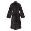 Элитный халат велюровый Leo черный от Roberto Cavalli