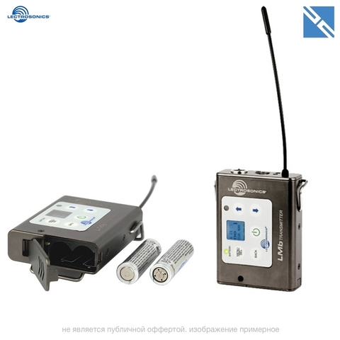 Поясной передатчик Lectrosonics HMa UHF Plug-On Wireless Transmitter (A1: 470.100 to 537.575 MHz) LMb Digital Hybrid Wireless Beltpack Transmitter (B1: 537.600 to 614.375 MHz)