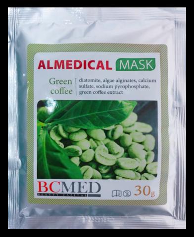 *Альгинатная маска (BCMED/Зеленый кофе/30гр)