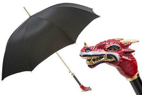 Зонт-трость Pasotti Red Dragon Umbrella, Италия (арт.479 Oxf-18 K73ro).