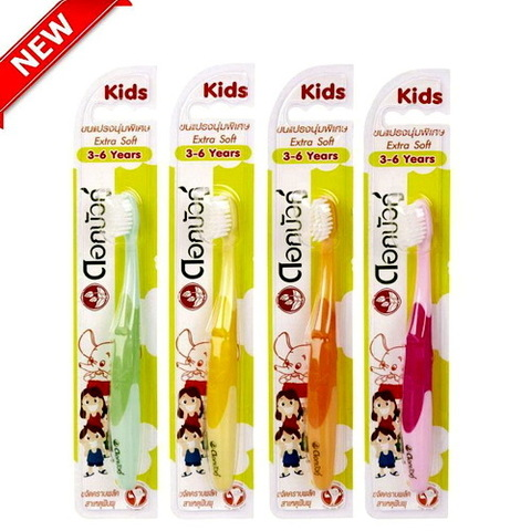 Twin Lotus Kids - Детская зубная щетка, 3-6 лет.