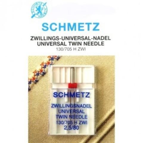 Игла Twin universal 130/705 H ZWI SCS №1-2,5/80 | Soliy.com.ua