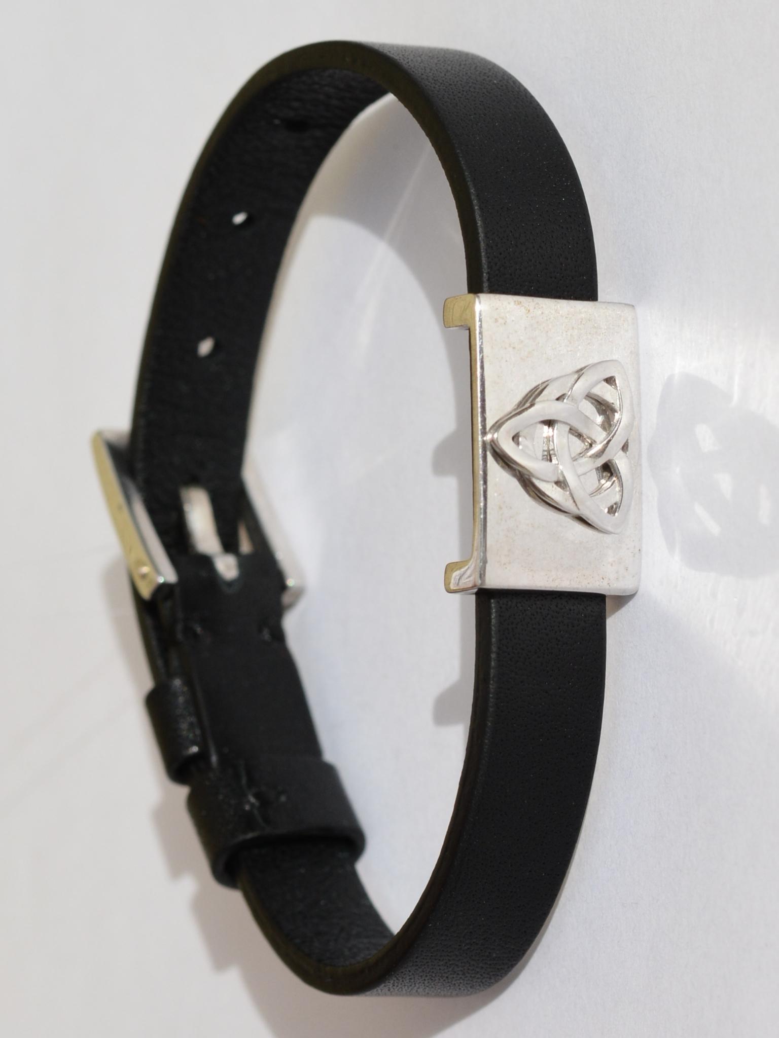 Триглав (кожаный браслет-оберег)