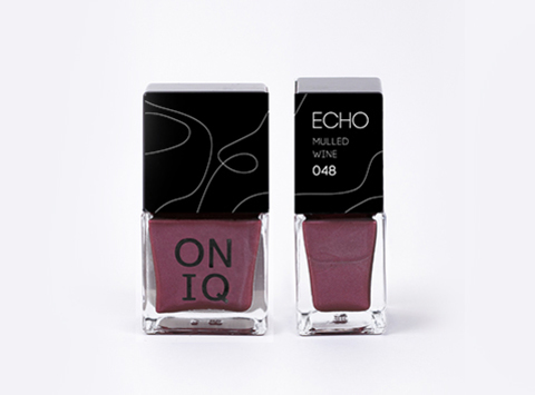 ONP-048 Лак для стемпинга.  Echo: Mulled Wine
