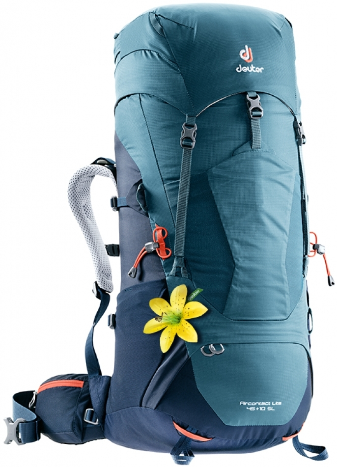 Туристические рюкзаки большие Рюкзак женский Deuter Aircontact Lite 45 + 10 SL (2018) image2.jpg