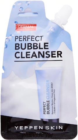 DERMAL Пенка для умывания YEPPEN SKIN PERFECT BUBBLE CLEANSER 20гр