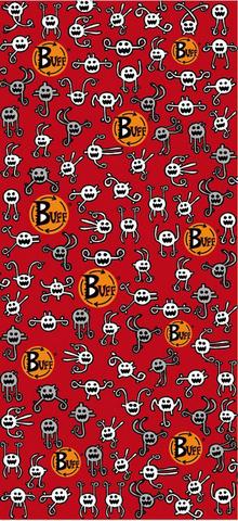 Многофункциональная бандана-труба детская Buff Jajaja Red