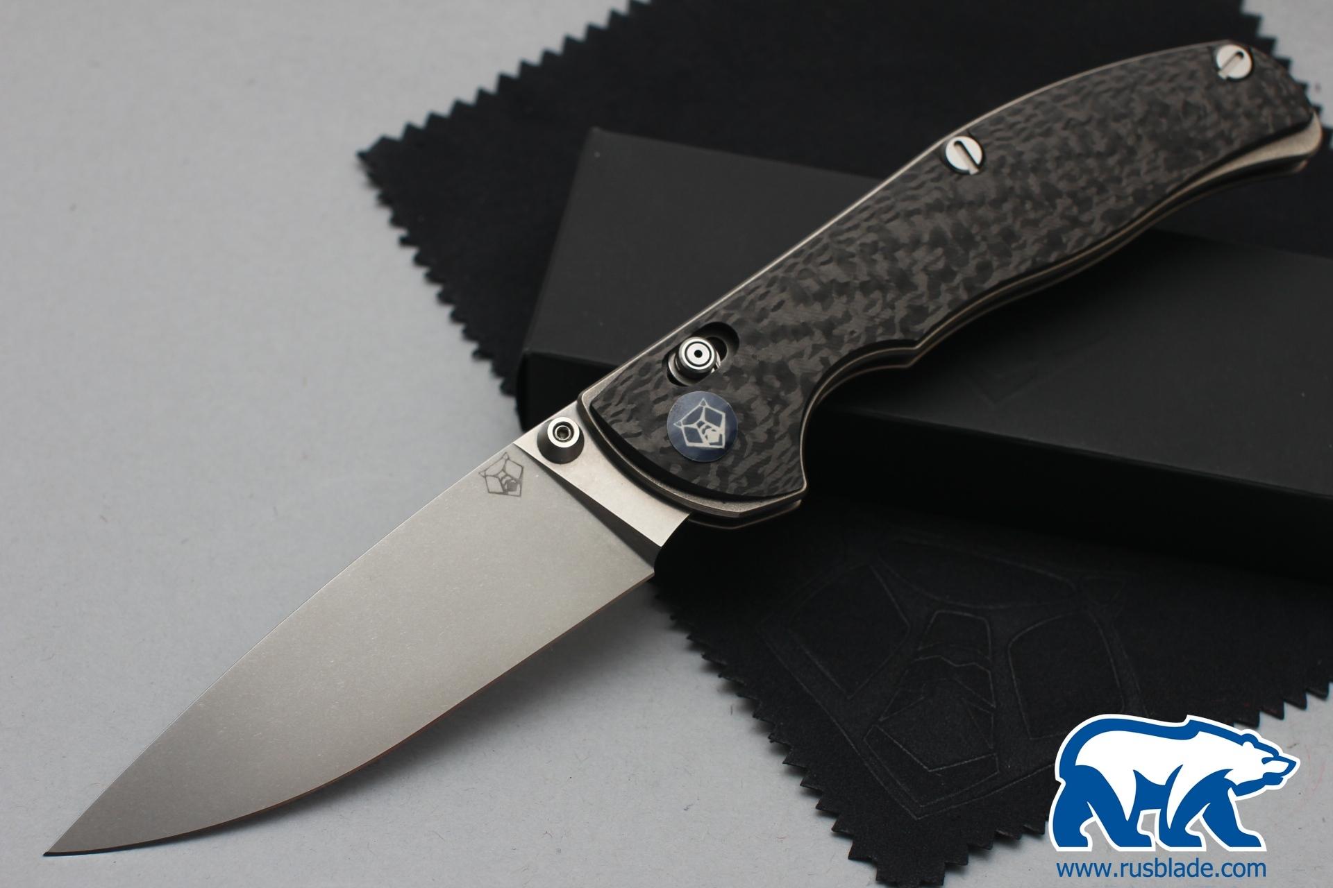 Shirogorov Tabargan 100NS M390 Carbon Fiber 3D