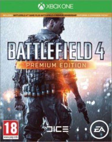 Xbox One Battlefield 4. Premium Edition (русская версия)