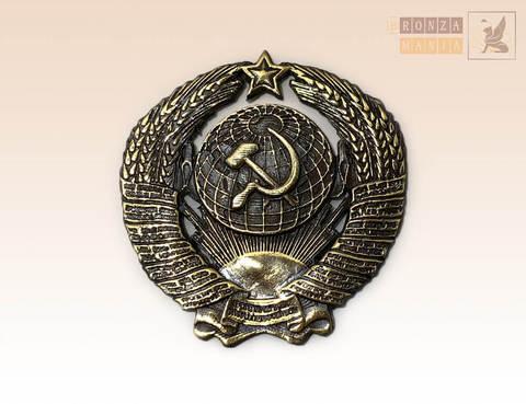 магнит Герб СССР 4х4 см