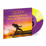 Queen / Bohemian Rhapsody + I'm In Love With My Car (Coloured Vinyl)(7' Vinyl Single)