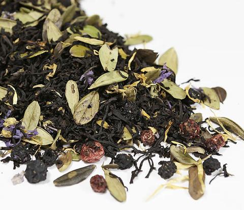 TEA-AR113 Черный ароматизированный чай «Таежный Сбор», черные типсы (50 гр)