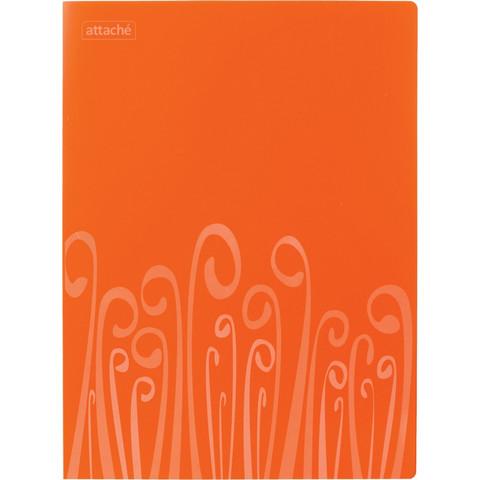 Папка с прижимом Attache Fantasy , оранж