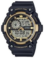 Мужские японские наручные часы Casio AEQ-200W-9AVDF